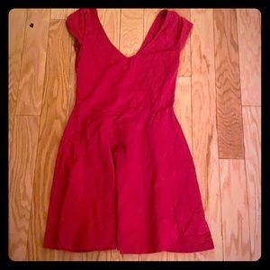 Hollister solid pink sleeveless dress size small